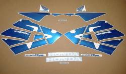 Honda CBR 600RR 2003 pearl blue stickers kit