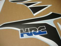 Honda Fireblade 2008-2009 HRC custom stickers