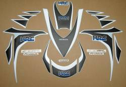 Honda Fireblade 2008-2009 HRC custom graphics