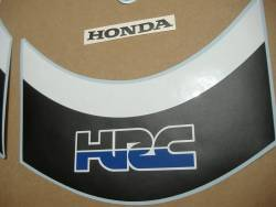 Honda CBR 1000RR 2008-2009 HRC custom stickers