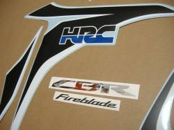 Honda CBR 1000RR 2010-2011 HRC custom decals