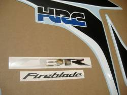 Honda Fireblade 2010-2011 HRC custom decals