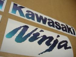 Kawasaki ZX10R Ninja color changeable decals