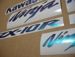 Kawasaki ZX10R Ninja chameleon adhesives set