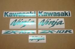 Kawasaki ZX10R Ninja chameleon custom stickers