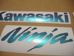 Kawasaki ZX10R Ninja chameleon decal set