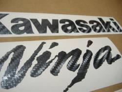 Kawasaki ZX10R Ninja carbon fiber custom graphics