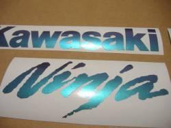 Kawasaki ZX6R Ninja color changeable graphics