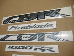 Honda CBR 1000RR SC59 custom carbon stickers