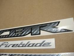 Honda Fireblade SC59 II custom carbon graphics