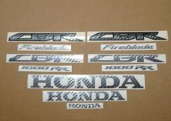 Honda CBR 1000RR SC59 custom carbon graphics