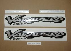 Honda Varadero XL1000V 1999 blue stickers kit