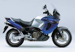 Honda Varadero XL1000V 1999 blue graphics kit