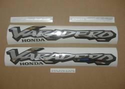 Honda Varadero XL1000V 1999 golden decal set