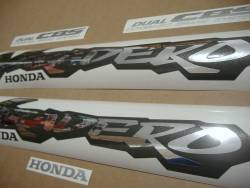Honda Varadero 2000 black stickers set