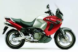 Honda Varadero XL1000V 2000 red -silver stickers