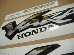 Honda XL1000V 2000 Varadero red decals set