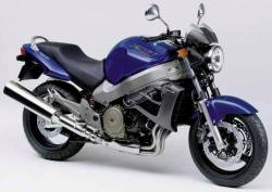 Honda X11 CB1100SF 2000 blue decals kit