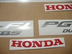 Honda X11 CB1100SF 2001 black stickers kit