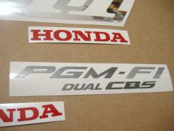 Honda X-Eleven CB1100SF 2001 black decals set