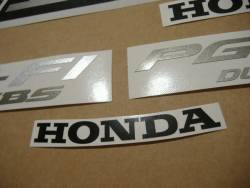Honda CB1100SF 1999 red stickers kit