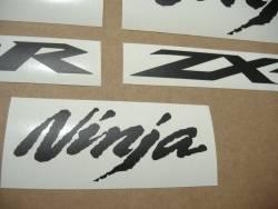 Kawasaki ZX-10R Ninja matte black graphics set