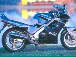 Honda VFR RC24 1988 blue restoration stickers