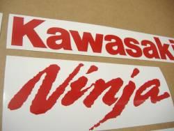 Kawasaki ZX-10R Ninja medium red logo graphics