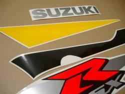 Suzuki GSXR 600 2002 yellow graphics set
