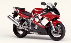 Yamaha R6 2002 5EB complete sticker kit