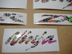 Kawasaki ZX10R Ninja graffiti multicolor decals