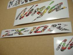 Kawasaki ZX10R Ninja graffiti decals set