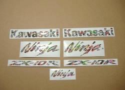 Kawasaki ZX10R Ninja stickerbomb stickers kit