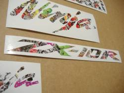 Kawasaki ZX10R 1000 Ninja graffiti stickers kit