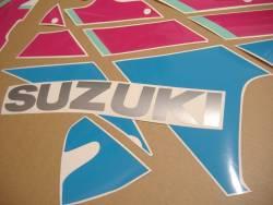 Suzuki GSXR 750N 1992 black pink version adhesives