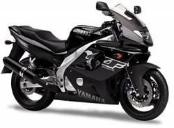 Yamaha Thundercat 1999 black decals set