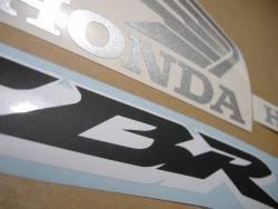Honda CBR 600RR 2007 black logo graphics