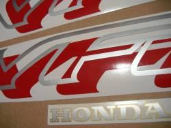 Honda VFR 750 RC36 1997 black reproduction decals