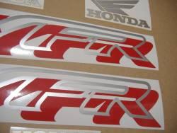 Honda VFR 750 RC36 1997 black logo graphics