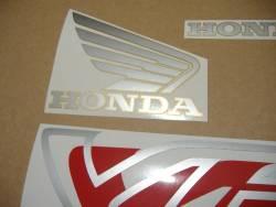 Honda VFR 750 RC36 1997 black stickers kit