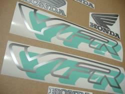 Honda VFR 750 RC36 1995 green adhesives