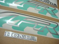 Honda VFR 750 RC36 95 green stickers kit