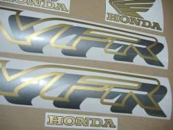 Honda VFR750F RC36 1996 red logo graphics