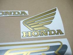 Honda VFR 750 RC36 1996 red replica decals
