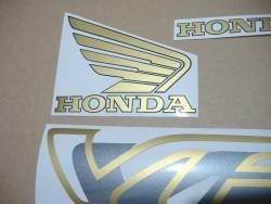 Honda VFR 750 FR RC36 1996 red decals set