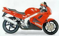 Honda VFR 750 FV RC36 1995-1996 red adhesives