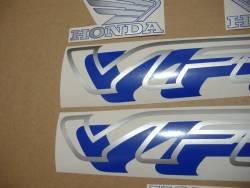 Honda VFR 750 RC36 1996 blue reproduction graphics