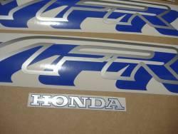 Honda VFR750 RC36 dark blue reproduction decals