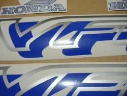 Honda VFR 750 RC36 1996 dark blue replica decals