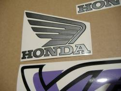 Honda VFR750F RC36 1994 silver logo graphics
